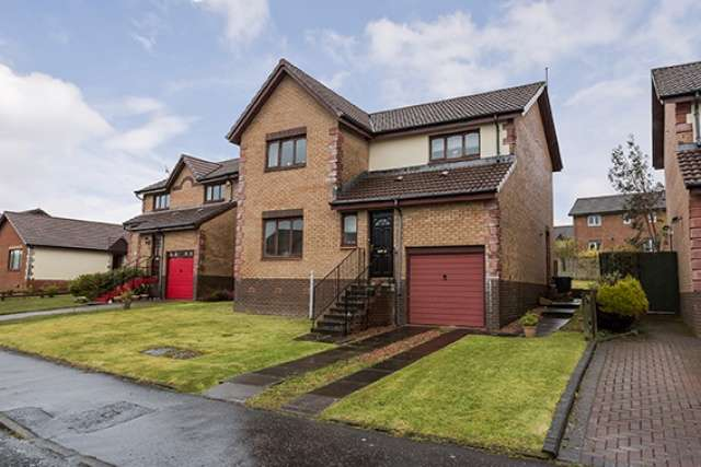 4 Bedrooms Detached House for sale in Aberdour Place, Inverkip, Inverclyde, PA16 0HZ