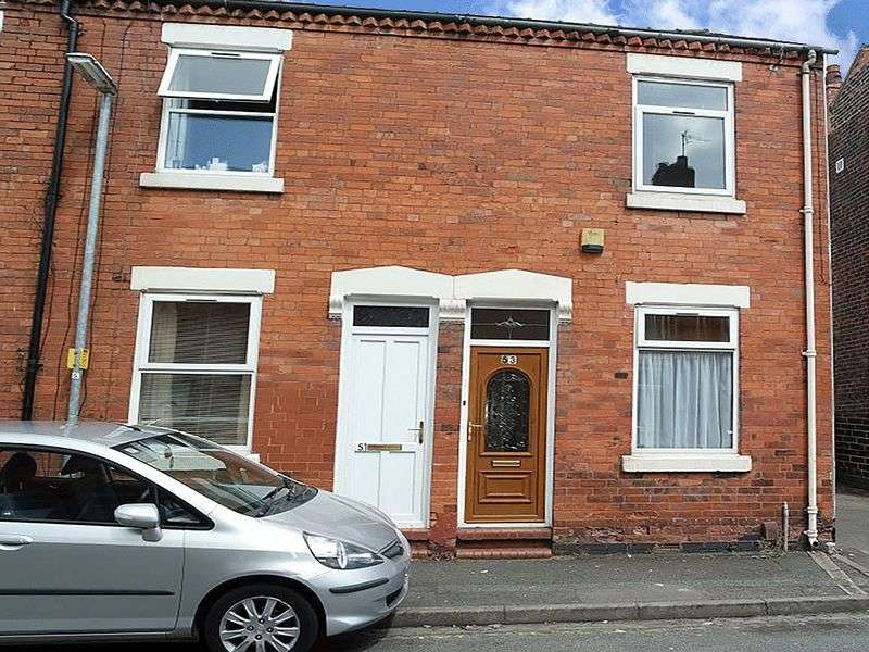2 Bedrooms Terraced House for sale in Stubbs Gate, Newcastle-under-Lyme, ST5 1LU
