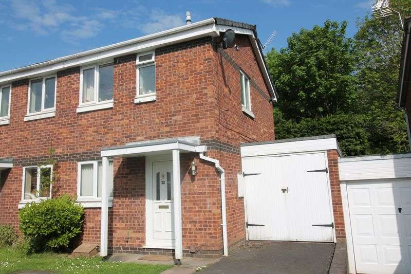 2 Bedrooms Semi Detached House for sale in Wroxeter Way, Stirchley, Telford