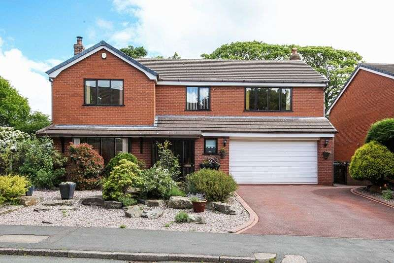4 Bedrooms Detached House for sale in Cranleigh, Standish