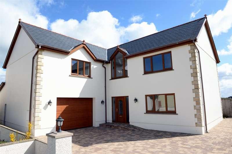 6 Bedrooms Detached House for sale in Ty Dderwen, Bro'r Dderwen, Clynderwen, Pembrokeshire