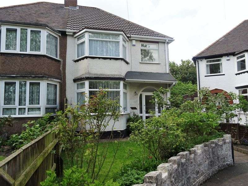3 Bedrooms Semi Detached House for sale in Kenton Avenue, Wolverhampton