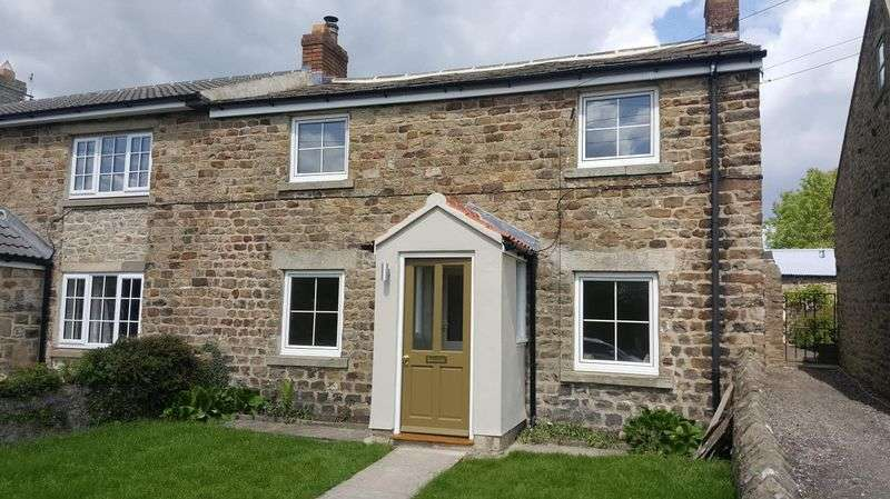2 Bedrooms Terraced House for sale in South View, Hunton, Bedale