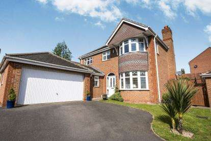 4 Bedrooms Detached House for sale in Pagoda Close, Streetly, Sutton Coldfield, West Midlands