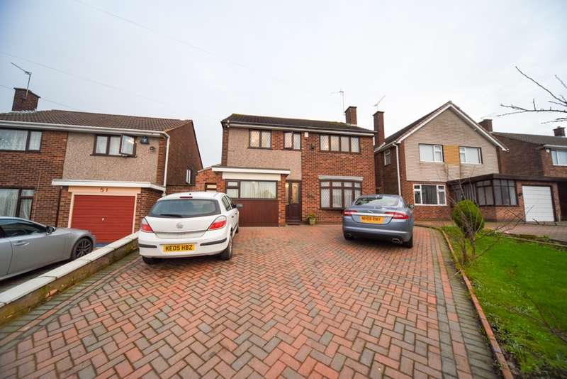 6 Bedrooms Detached House for sale in Wakerley Road, Evington, Leicester, Leicestershire, LE5