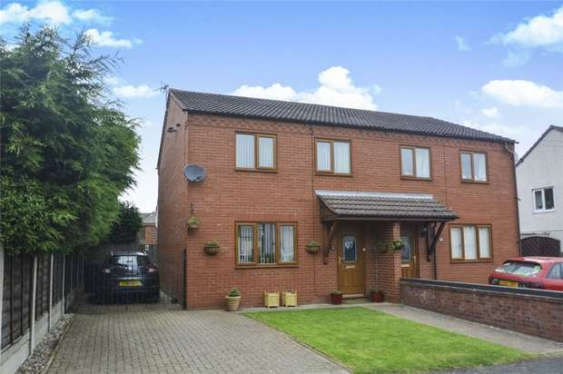 3 Bedrooms Semi Detached House for sale in 20 Anstice Road, Madeley, Telford, Shropshire