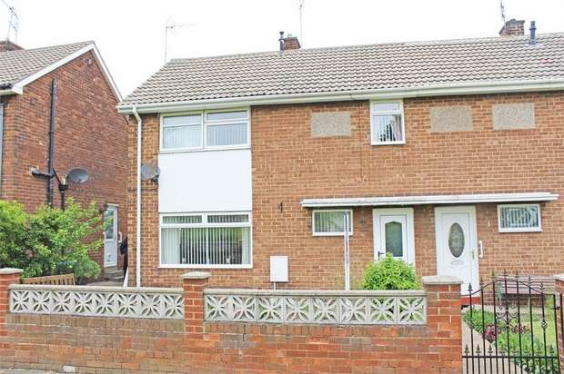 3 Bedrooms Semi Detached House for sale in Norfolk Close, Seaham, Durham