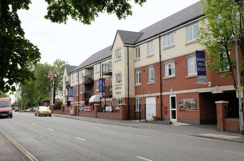 1 Bedroom Flat for sale in Mitton Lodge, Vale Road, Stourport-On-Severn: One bed ground floor retirement apartment