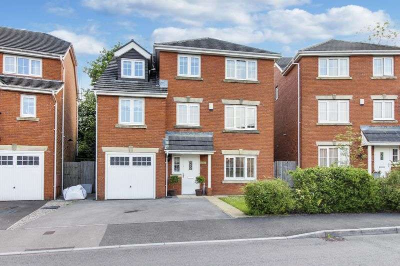 5 Bedrooms Detached House for sale in Pontymason Rise, Newport