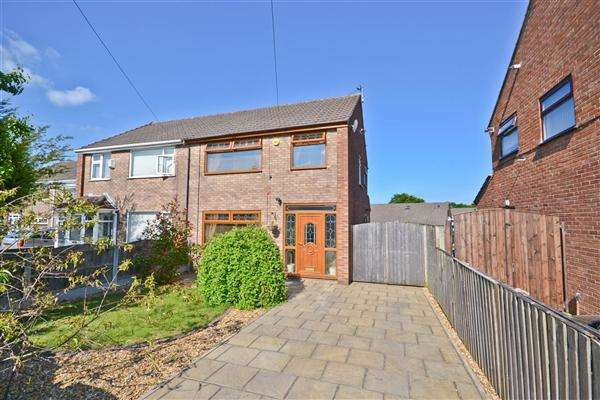 3 Bedrooms Semi Detached House for sale in Rosley Road, Hawkley Hall