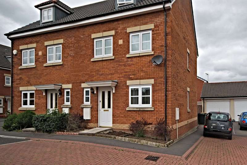 3 Bedrooms Semi Detached House for sale in Amelia Close, Newport, South Wales. NP19 0LU