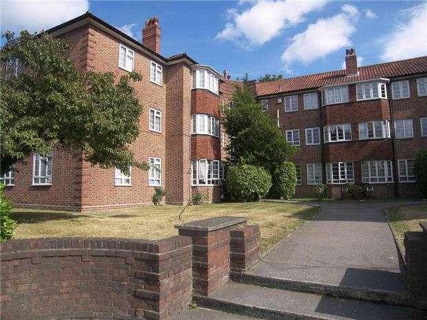 2 Bedrooms Flat for sale in Harcourt Lodge, Croydon Road, WALLINGTON, Surrey, SM6 7PB