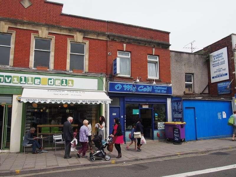 1 Bedroom Flat for sale in Church Road, Bristol
