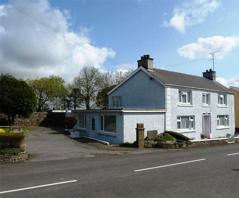 3 Bedrooms Detached House for sale in Burlington House, Tavernspite, Whitland, Pembrokeshire