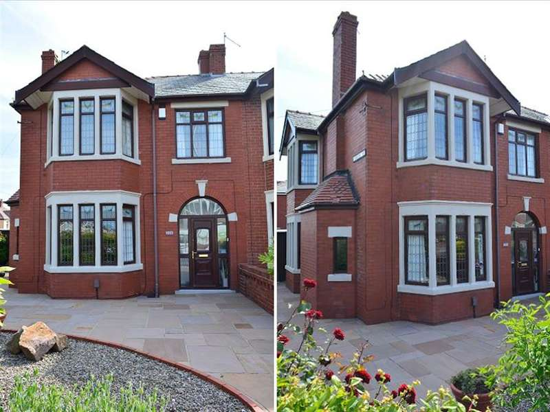 3 Bedrooms Semi Detached House for sale in St Annes Road, South Shore, Blackpool, FY4 2QL