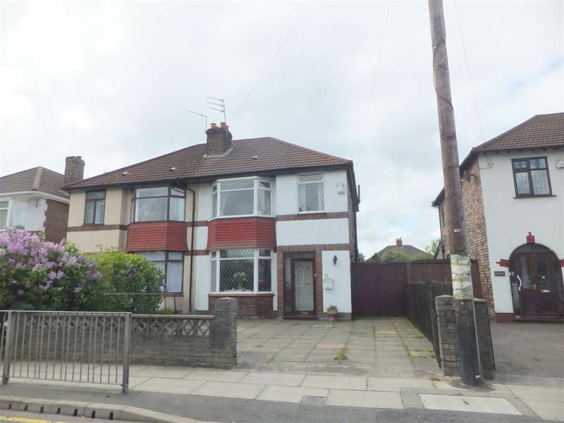 3 Bedrooms Semi Detached House for sale in Rupert Road, Huyton, Liverpool