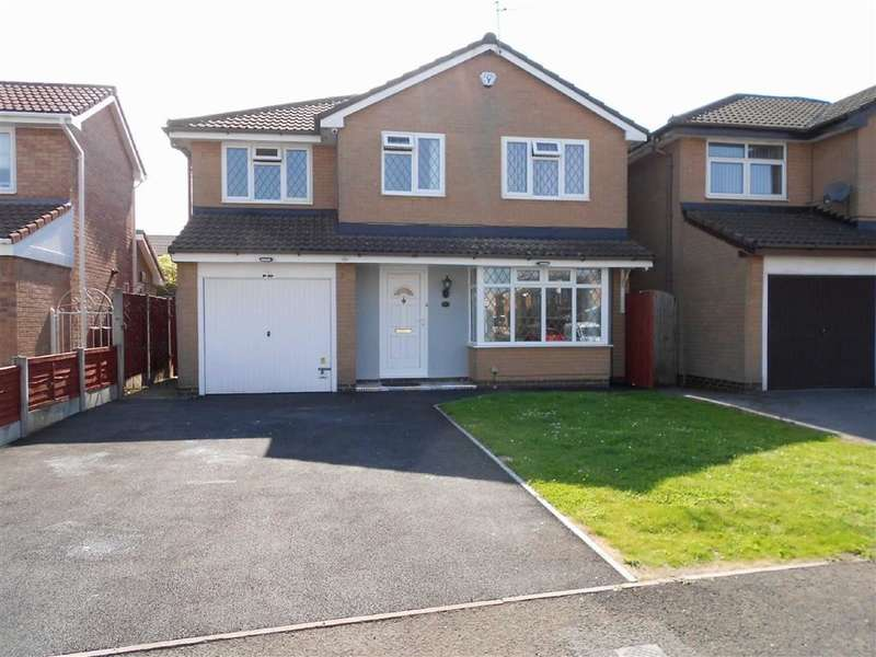 4 Bedrooms Property for sale in Hesketh Croft, Coppenhall, Crewe, Cheshire