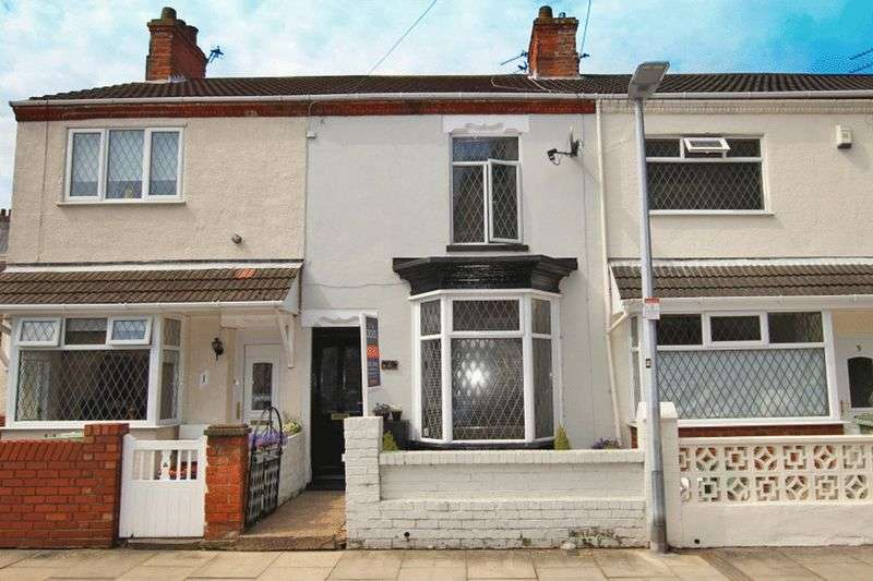 2 Bedrooms Terraced House for sale in GLEBE ROAD, CLEETHORPES