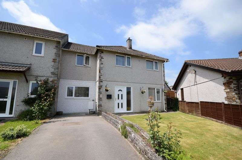 4 Bedrooms Semi Detached House for sale in Oakey Orchard, Lower Metherell, Callington