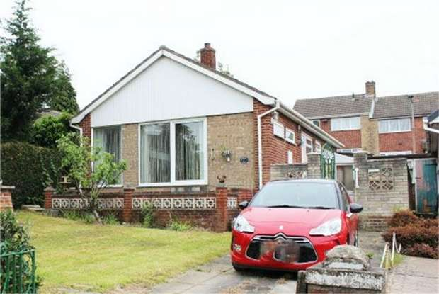 2 Bedrooms Detached Bungalow for sale in Windgate Hill, Conisbrough, Doncaster, South Yorkshire