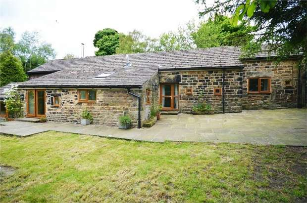 3 Bedrooms Barn Conversion Character Property for sale in Bramble Cottage, Bank House Lane, Thurlstone, SHEFFIELD, South Yorkshire