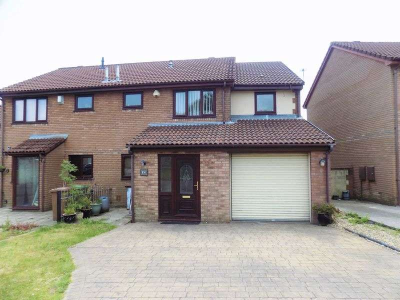 4 Bedrooms Semi Detached House for sale in Cae Du Mawr, Caerphilly