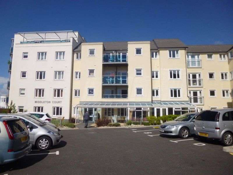 1 Bedroom Flat for sale in Middleton Court, Picton Avenue, Porthcawl: NO CHAIN one bed second floor retirement apartment
