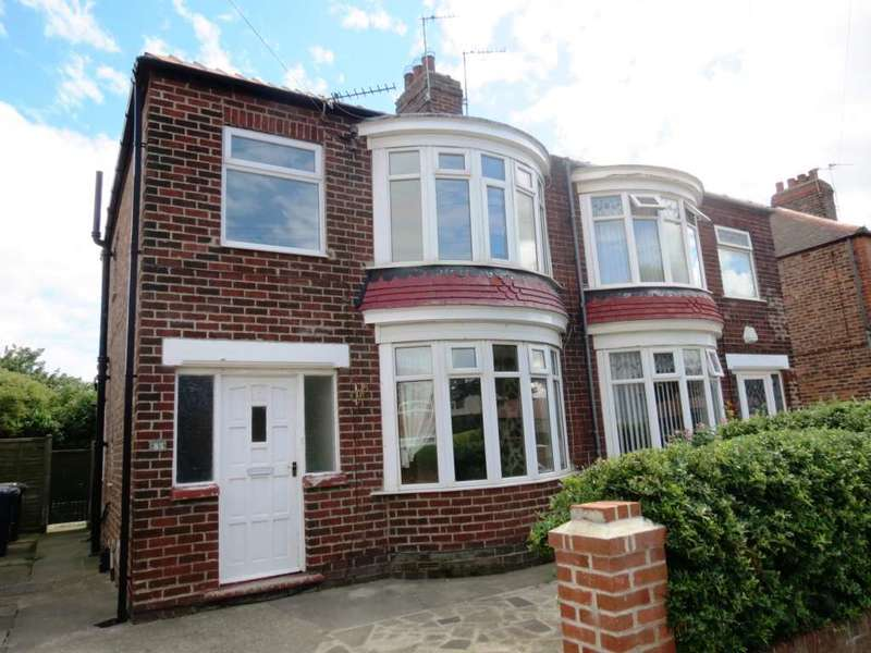 3 Bedrooms Semi Detached House for sale in ***REDUCED*** Canterbury Road, Redcar