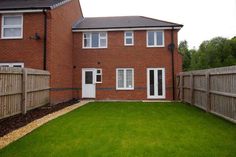 3 Bedrooms Terraced House for sale in Lamberton Drive, Brymbo, Wrexham