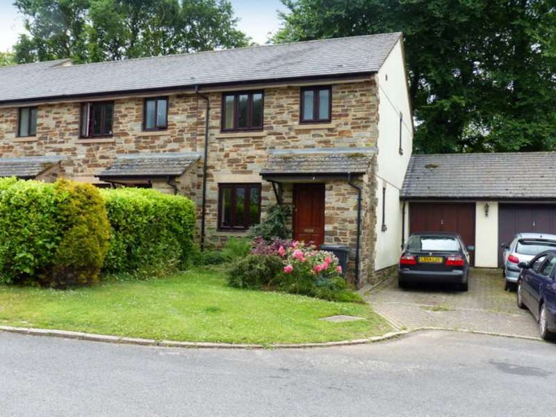 3 Bedrooms End Of Terrace House for sale in Crocadon Meadows, Halwell
