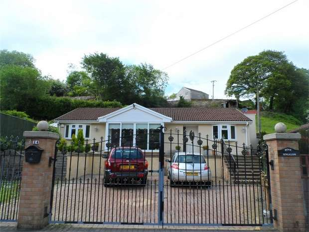 4 Bedrooms Detached Bungalow for sale in 14 Greenfield Terrace, Argoed, BLACKWOOD, Caerphilly