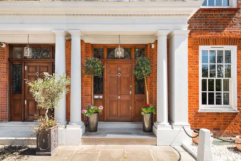 6 Bedrooms Terraced House for sale in Chelsea Square, London, SW3