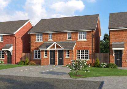 3 Bedrooms Semi Detached House for sale in The Paddocks, Sandy Lane, Higher Bartle