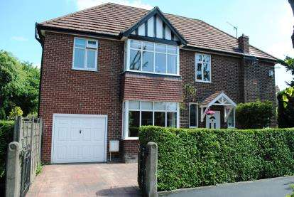 4 Bedrooms Detached House for sale in The Corner House, Madison Avenue, Cheadle Hulme, Cheshire