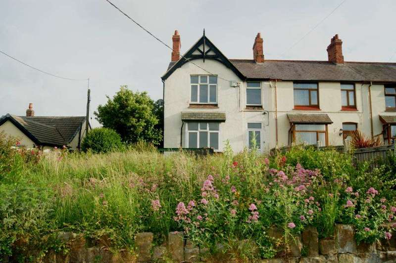 3 Bedrooms End Of Terrace House for sale in Owens Terrace, Picton Road, Penyffordd, Holywell, CH8 9HP.