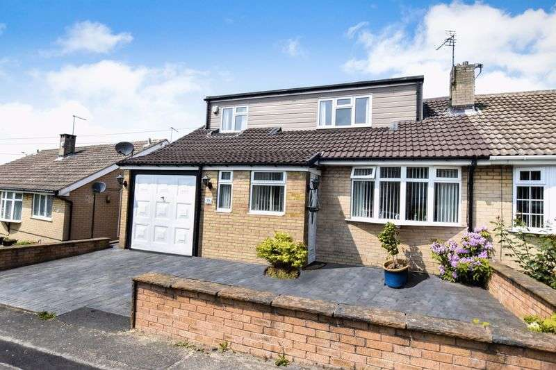 3 Bedrooms Semi Detached House for sale in Kynance Crescent, Brinsworth