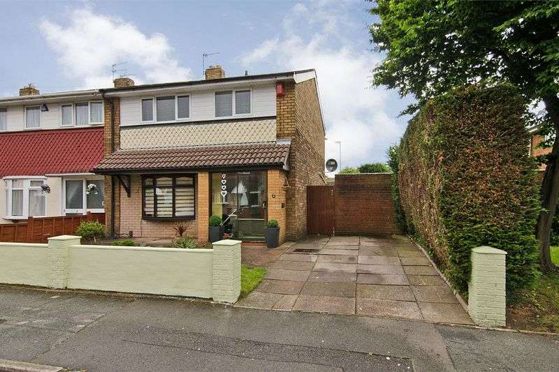 3 Bedrooms Semi Detached House for sale in Jenner Road, Walsall