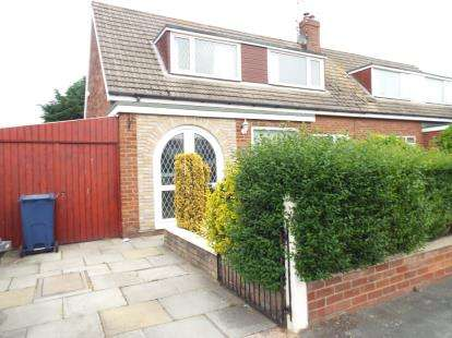 2 Bedrooms Semi Detached House for sale in Lancaster Drive, Southport, Merseyside, PR9
