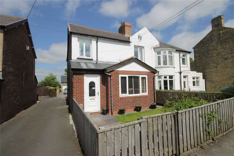 3 Bedrooms Semi Detached House for sale in Rowley Bank, Castleside, Consett, DH8
