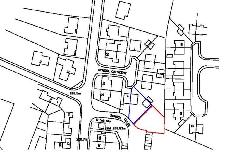 1 Bedroom Plot Commercial for sale in School Crescent, Bradshaw, Halifax, HX2 9QR
