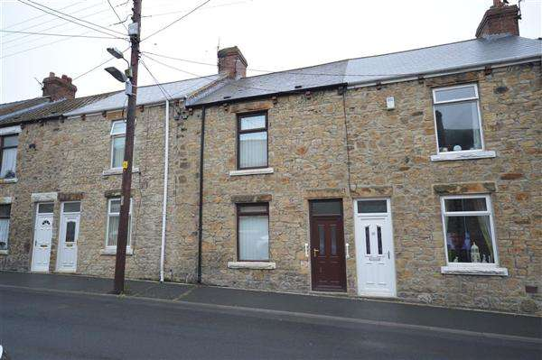 2 Bedrooms Terraced House for sale in Edward Terrace, New Kyo, Stanley