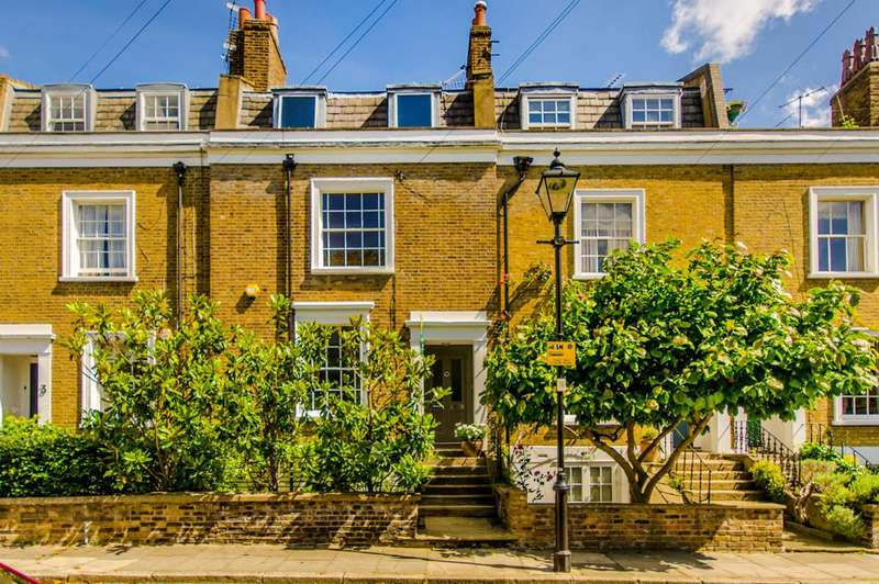 3 Bedrooms House for sale in Bingham Street, Islington, N1