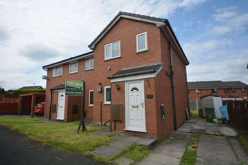 2 Bedrooms Semi Detached House for sale in 4 Willow Street, Clayton Le Moors