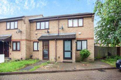 2 Bedrooms End Of Terrace House for sale in Monks Close, Harrow