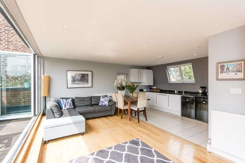 2 Bedrooms Flat for sale in Rockley Court, Brook Green, W14