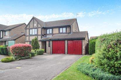 4 Bedrooms Detached House for sale in Dalton Close, Luton, Bedfordshire, Barton Hills