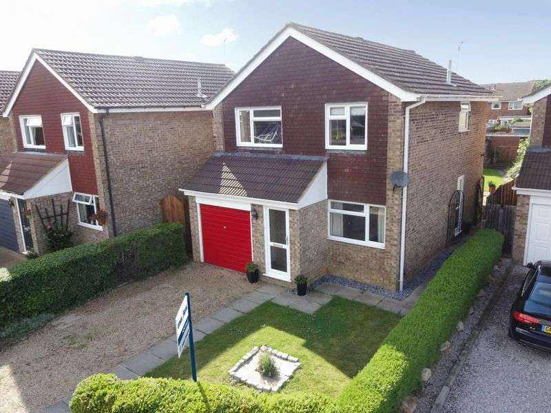 4 Bedrooms Detached House for sale in Lewis Close, Newport Pagnell