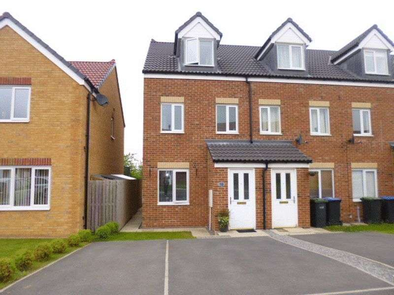3 Bedrooms Terraced House for sale in Hutchinson Close, Coundon