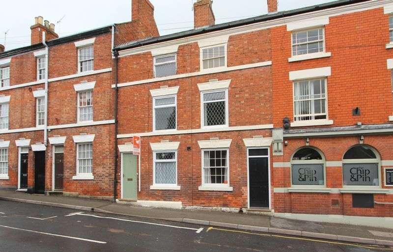 3 Bedrooms Terraced House for sale in High Street, Melbourne, Derbyshire DE73 8GJ