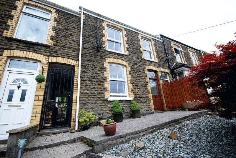 3 Bedrooms Terraced House for sale in 2 Woodview Terrace, Bryncoch, Neath, SA10 7EQ